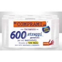 Գլանափաթեթով թղթյա սրբիչներ COMPRAMI 6x100