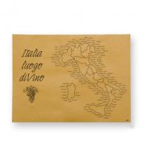 Սպասքի տակ դնելու թղթյա սփռոցներ Italia Luogo Di Vino